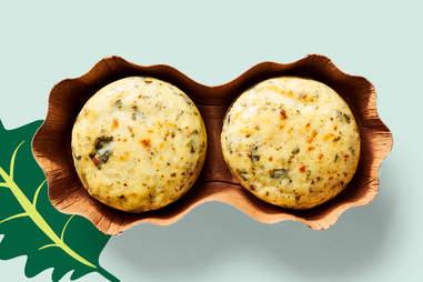 Kale and Portabella Mushroom Sous Vide Egg Bites