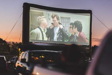 Rooftop Cinema Club drive in
