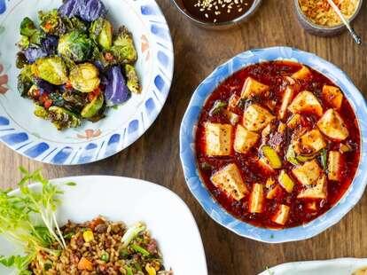 Spicy Moon Vegetarian Szechuan