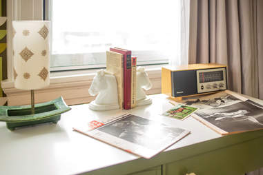 desktop area at 21c Museum Hotel Lexington