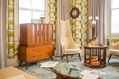 Harmon Room at 21c Museum Hotel Lexington