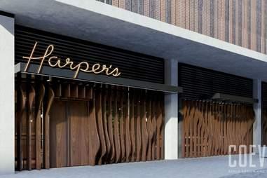 Harper's exterior