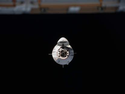 Crew Dragon International Space Station