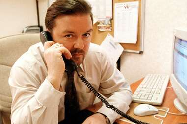 ricky gervais in the office, david brent