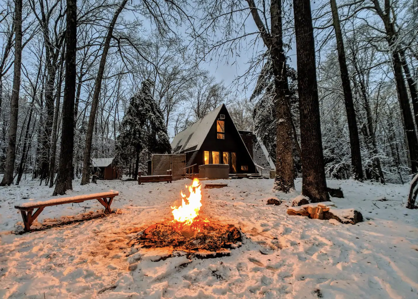 Cool Airbnbs Near Philly To Book This Winter