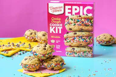 Duncan Hines Epic Cookie Dough Baking Kit