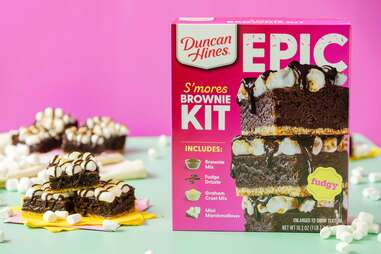 Duncan Hines EPIC S'mores Brownie Kit