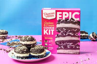 Duncan Hines EPIC Cookies & Cream Cookie Kit