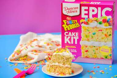 Duncan Hines EPIC Fruity Pebbles Cake Kit