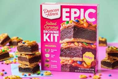 Duncan Hines EPIC Salted Caramel Brownie Kit