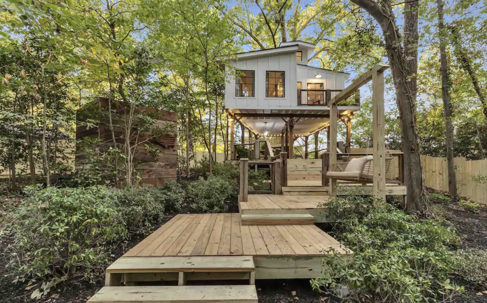 Cool Airbnbs Near Atlanta To Book This Winter