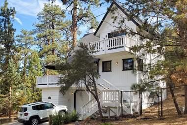 treetop cabin
