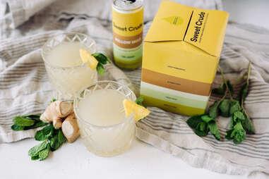 Sweet Crude CBD Cocktails