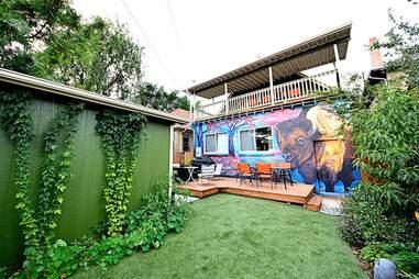mural backyard