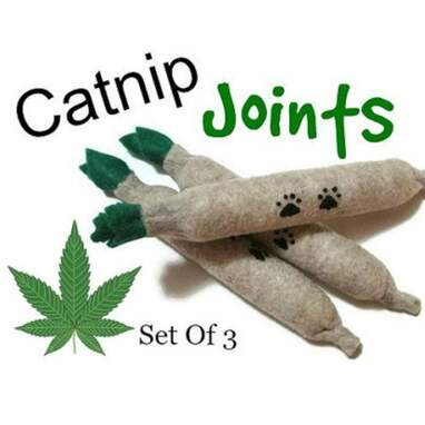 Felt Catnip Joints (Set Of 3)
