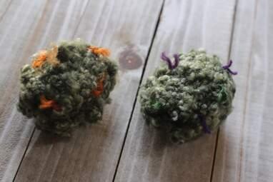 Catnip Weed Nug Toy