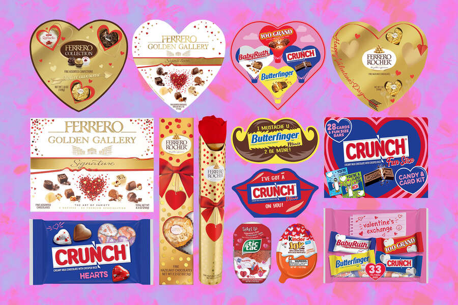 Ferrero's Limited-Edition Valentine's Day Candy Lineup Has Hearts, Roses & Mustaches