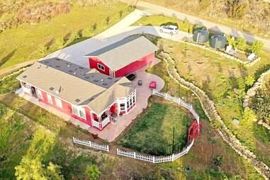 cottage overhead