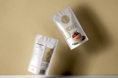 vegan pancakes and waffles