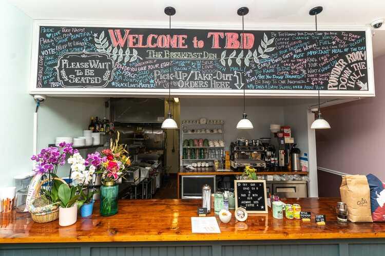 TBD. The Breakfast Den