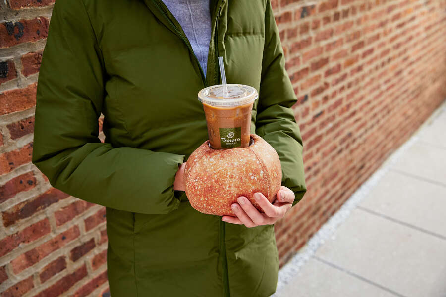 Panera Made 'Bread Bowl Gloves' to Warm Up Iced Coffee Drinkers' Freezing Hands