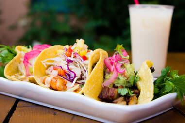 outdoor tacos