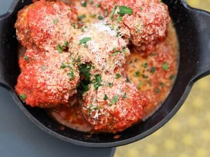 Fiorella meatballs