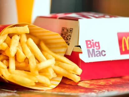 McDonald's menu items