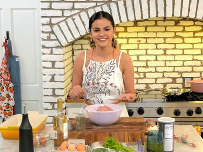 selena + chef, selena gomez