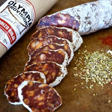 Olympia Provisions—European Salami Sampler with Red Gift Box