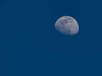moon winter hexagon