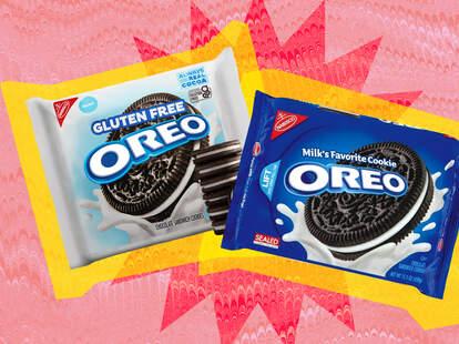 Gluten-free vs Original Oreos