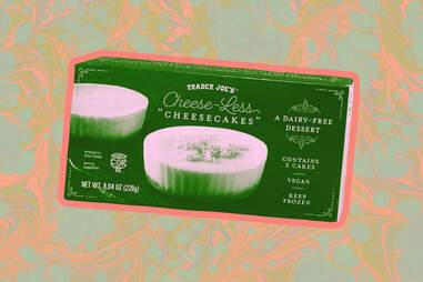 trader joes cheeseless cheesecake vegan