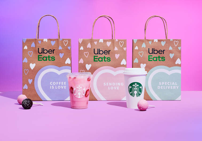 Starbucks & Uber Eats Are Offering Sweet Deals for Valentine's Day
