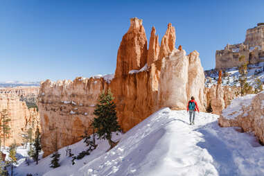 bryce canyon hiker