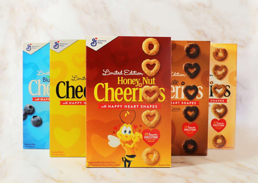 Here's How to Get a Free Box of Heart-Shaped Honey Nut Cheerios in February