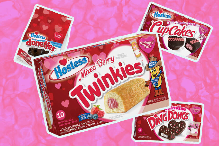 Hostess' 2021 Valentine's Collection Includes a New Twinkies Flavor