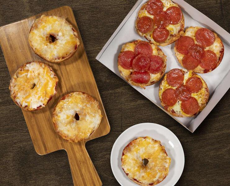 Einstein Bros. Is Giving Out Half-Price Boxes of Pizza Bagels for National Pizza Day