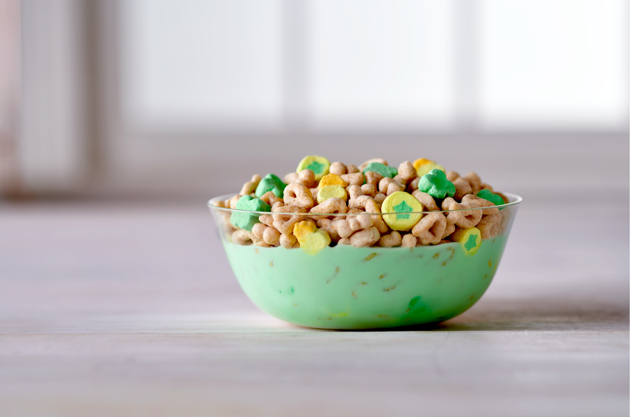Limited-Edition Lucky Charms Will Turn Your Milk Bright Green