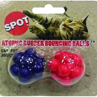 SPOT Atomic Bouncing Ball Cat Toy