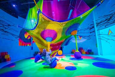 Technicolored Immersive Art Museum