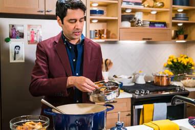 Sri Rao cooking