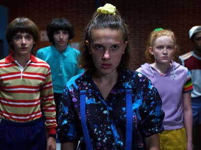 stranger things kid actors age