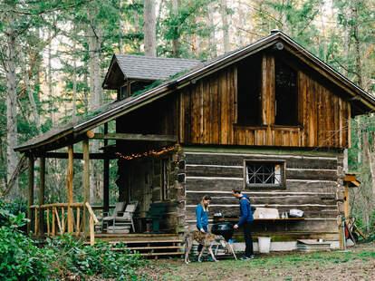 Hipcamp cabin in Vashon