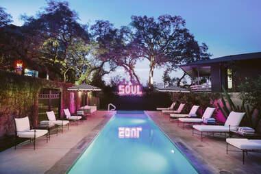 Hotel Saint Cecilia pool