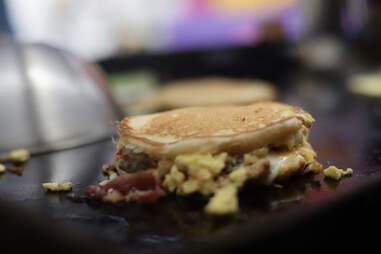 Stuff'dLA breakfast sandwich