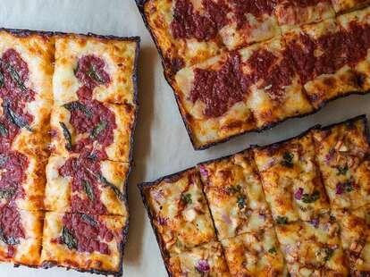 Motown Square Pizza