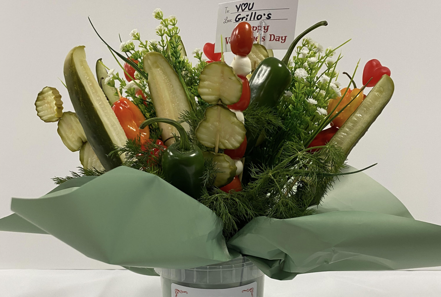 Skip the Flowers, Give a Pickle Bouquet on Valentine's Day
