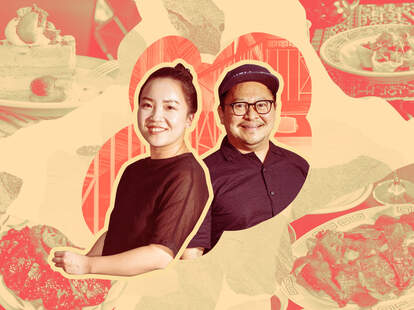 Lydia Chang, left, and Pichet Ong of NiHao.