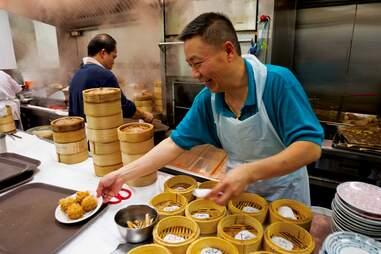Kirin Court dumpling assembly